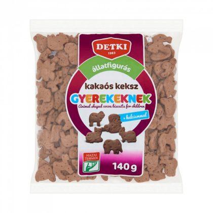 Detki állatfigurás keksz - kakaós (140 g)