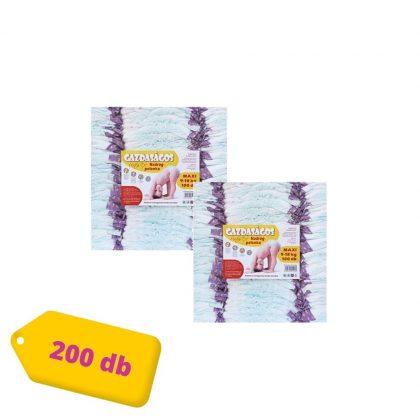 Gazdaságos pelenka, Maxi 4, 9-18 kg, HAVI PELENKACSOMAG 2x100 db (változó mintákkal)
