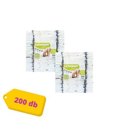Gazdaságos pelenka, Junior 5, 12-25 kg, HAVI PELENKACSOMAG 2x100 db (változó mintákkal)