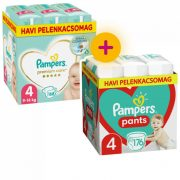 Pampers Premium Care Maxi 4, 168 db + Pampers Pants Maxi 4, 176 db