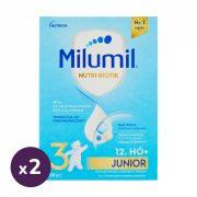 Milumil 3 Junior ital 12 hó+ (2x600 g)