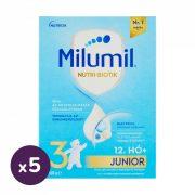 Milumil 3 Junior ital 12 hó+ (5x600 g)