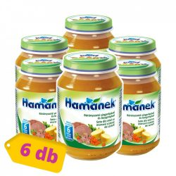 Hamánek bébiétel bárányszoté burgonya és sárgarépa, 9 hó+ (6x190 g)