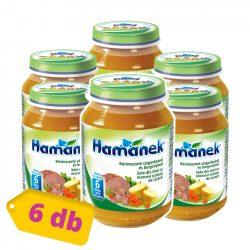 Hamánek bébiétel bárányszoté burgonya és sárgarépa, 6 hó+ (6x190 g)