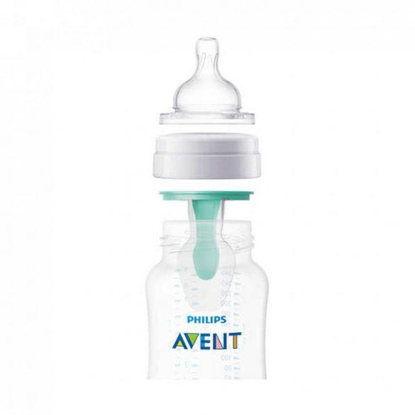 Avent SCF813/14 Anti-colic cumisüveg AirFree™ szeleppel 260 ml