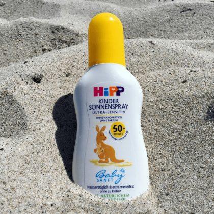 Hipp Babysanft napvédő spray, naptej SPF50+ 150 ml