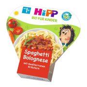 Hipp BIO bolognai spagetti, 12 hó+ (250 g) - tálcás menü