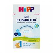 Hipp 1 BIO Combiotik tejalapú, anyatej-helyettesítő tápszer 0 hó+ (600 g)