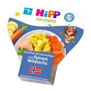 Hipp BIO sárgarépa burgonyával és vadlazaccal, 12 hó+ (250 g) - tálcás menü