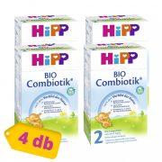 Hipp 2 BIO Combiotik tejalapú, anyatej-kiegészítő tápszer 6 hó+ (4x600 g)