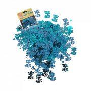 Kisfiús kék konfetti babaszületésre - 14 gramm