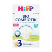 Hipp 3 BIO Combiotik tejalapú, anyatej-kiegésztő tápszer 10 hó+ (600 g)