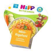 Hipp BIO mini rigatoni zöldséges-tejszínes szószban, 12 hó+ (250 g) - tálcás menü