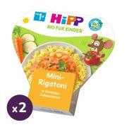 Hipp BIO mini rigatoni zöldséges-tejszínes szószban, 12 hó+ (2x250 g) - tálcás menü