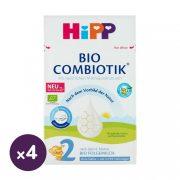 Hipp 2 BIO Combiotik tejalapú anyatej-kiegészítő tápszer keményítő nélkül 6 hó+ (4x600 g)