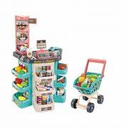 Multifunkciós szupermarket bevásárlókocsival (47 részes)