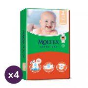 MOLTEX Extra Dry nadrágpelenka, Mini 2, 3-8 kg HAVI PELENKACSOMAG 144 db