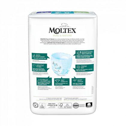 MOLTEX Pure&Nature öko bugyipelenka, Junior 5, 9-14 kg, 20 db
