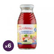Kecskeméti alma-szőlő-feketeribizli gyümölcsital, 6 hó+ (6x200 ml)