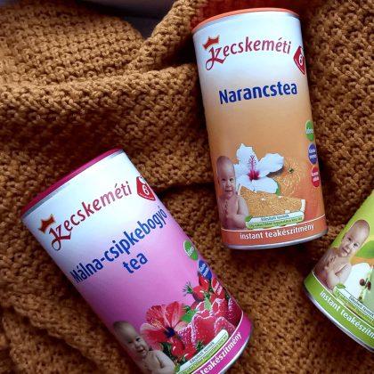 Kecskeméti málna-csipkebogyó instant tea 6 hó+ (2x200 g)