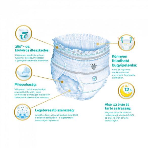 Pampers Premium Care Pants bugyipelenka, Midi 3, 6-11 kg, 2+1, 144 db