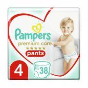 Pampers Premium Care Pants bugyipelenka, Maxi 4, 9-15 kg, 38 db