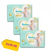 Pampers Premium Care Pants bugyipelenka Maxi 4, 9-15 kg, 2+1, 114 db