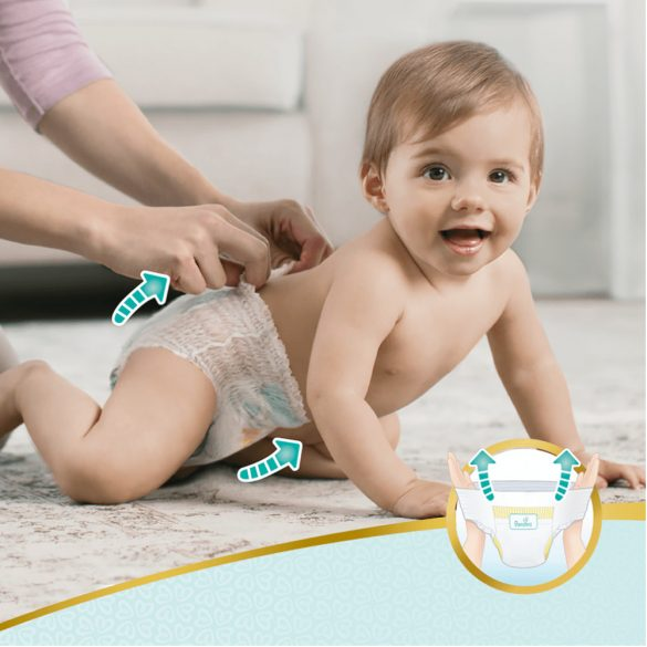 Pampers Premium Care Pants bugyipelenka, Maxi 4, 9-15 kg, 2+1, 114 db