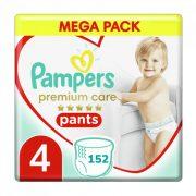 Pampers Premium Care Pants bugyipelenka Maxi 4, 9-15 kg HAVI PELENKACSOMAG 4x38 db