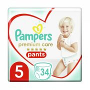 Pampers Premium Care Pants bugyipelenka, Junior 5, 12-17 kg, 34 db