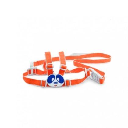 Chicco Biztonsági bébikantár (gyermekpóráz) narancssárga 6 hó+