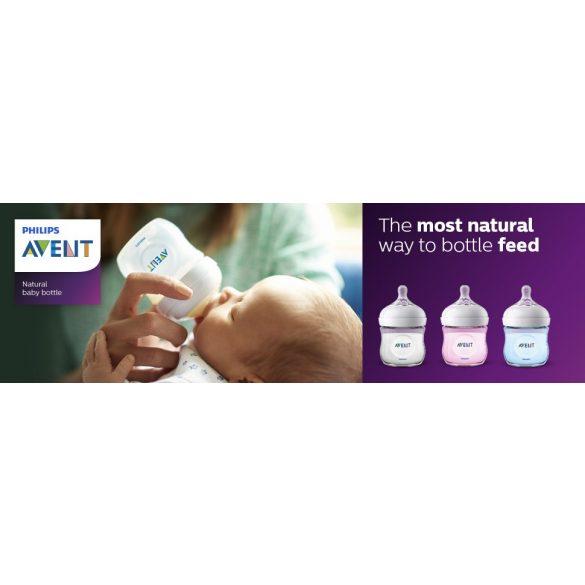 Avent SCF690/17 Natural cumisüveg PP 125 ml BPA mentes