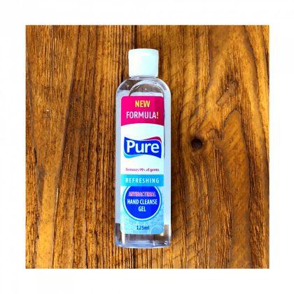 Pure antibakteriális kézfertőtlenítő gél 125 ml