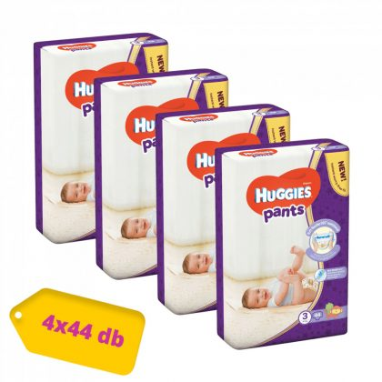 Huggies Pants bugyipelenka Midi 3, 6-11 kg HAVI PELENKACSOMAG 4x44 db