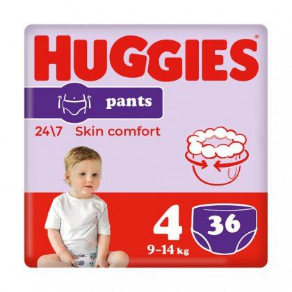 Huggies Pants bugyipelenka, Maxi 4, 9-14 kg, 36 db
