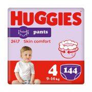 Huggies Pants bugyipelenka Maxi 4, 9-14 kg HAVI PELENKACSOMAG 4x36 db