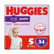 Huggies Pants bugyipelenka Junior 5, 12-17 kg, 34 db