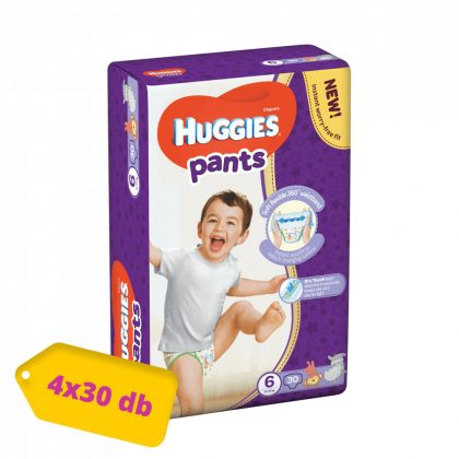 Huggies Pants bugyipelenka, XL 6, 15-25 kg, HAVI PELENKACSOMAG 4x30 db