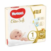 Huggies Elite Soft pelenka 1, 3-5 kg, 82 db