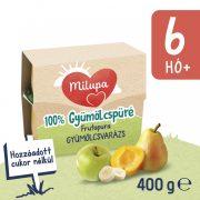 Milupa Frutapura Gyümölcsvarázs gyümölcspüré 6 hó+ (4x100 g)