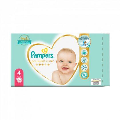 Pampers Premium Care pelenka, Maxi 4, 9-14 kg,  104 db