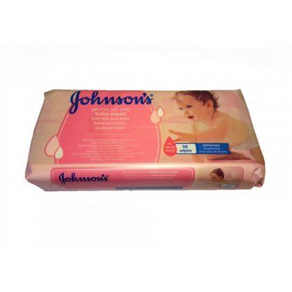 Johnson's Gentle Cleansing törlőkendő 56 db