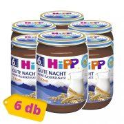 Hipp BIO jó éjt papi tejbegríz 7 féle gabonával, 6 hó+ (6x190 g)