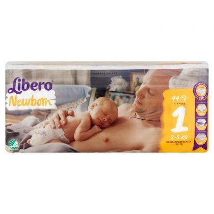 Libero Newborn pelenka Jumbopack, Újszülött 1, 2-5 kg, 44 db
