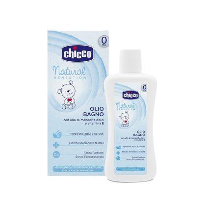 Chicco Hidratáló fürdető olaj mandulaolajjal és E-vitaminnal (200 ml)