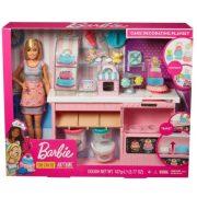 Mattel Barbie álom cukrászműhely kiegészítőkkel