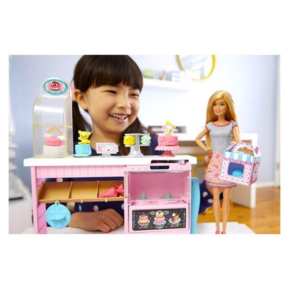 Mattel Barbie álom cukrászműhely kiegészítőkkel (GFP59)