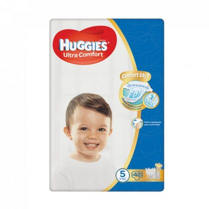 Huggies Ultra Comfort pelenka, Junior 5, 12-22 kg, 42 db
