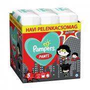 Pampers Pants szuperhősös bugyipelenka, Junior 5, 12-17 kg 198 db HAVI PELENKACSOMAG