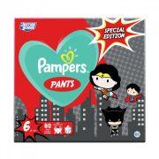Pampers Pants szuperhősös bugyipelenka, XL 6, 15+ kg, 60 db